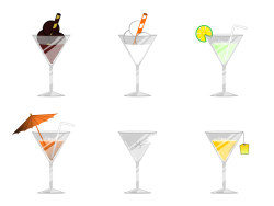 Summer Casual drinks icon png